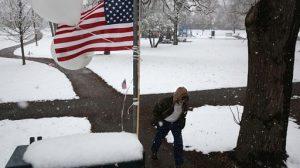 Usa: neve e gelo
