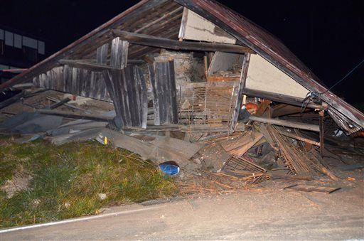 Forte terremoto 6 2 in giappone 10 case crollate ad for Giappone case