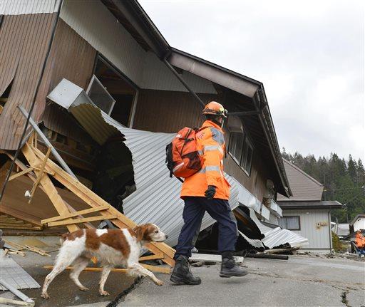 Violento terremoto in giappone tante case crollate for Giappone case