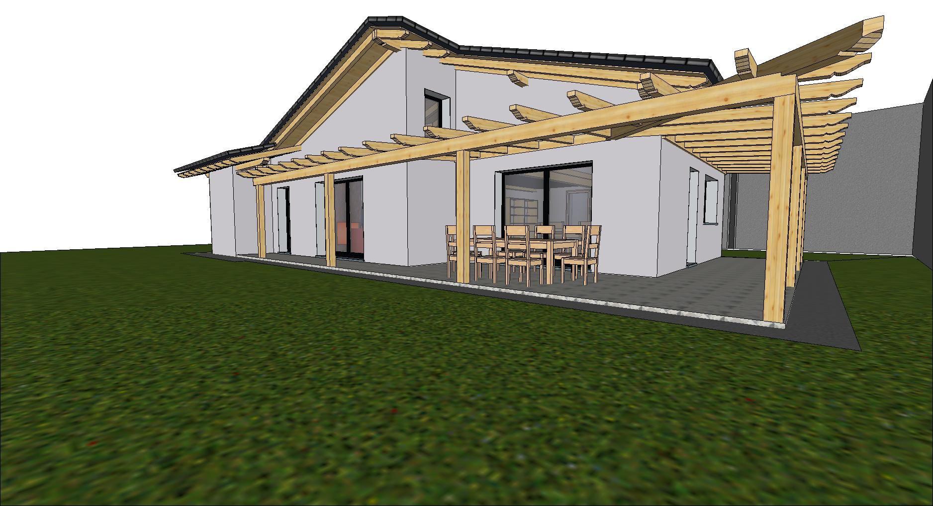 Ambiente la prima casa in standard passivo mediterraneo for Progetti di case moderne a un solo piano