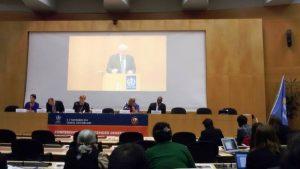Il discorso del Segretario Generale WMO