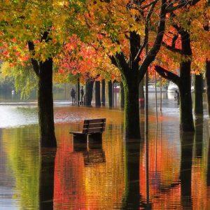Omegna01 autunno colori lago, maltempo alluvione esondazione