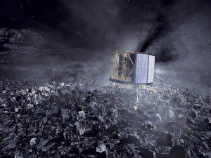 Rosetta_s_Philae_lander_on_comet_nucleus