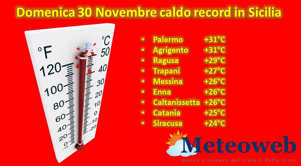 allerta meteo sicilia caldo