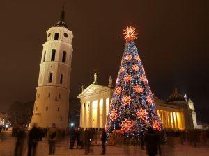christmas tree in vilniuss