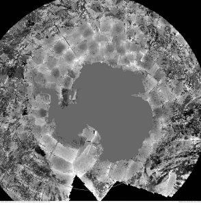 foto satellitare antartide