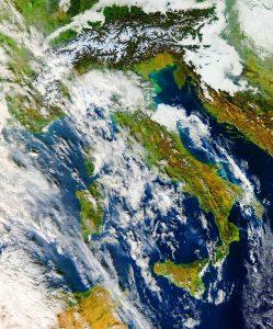 italia satellite oggi