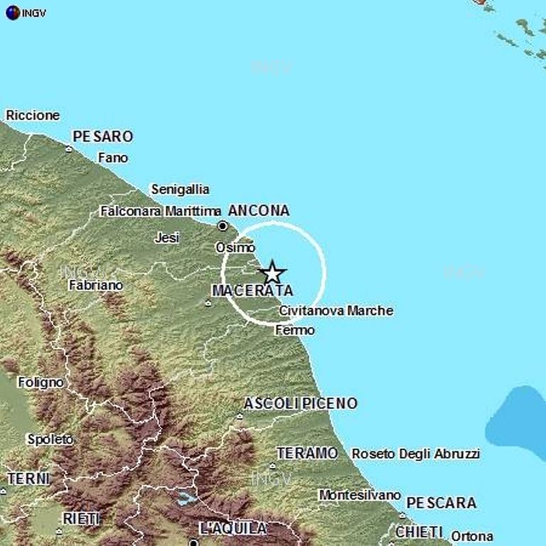 Scossa Di Terremoto Di Magnitudo 3 0 A Porto Recanati Sul