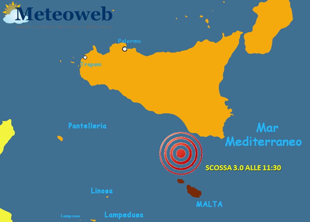 terremoto malta