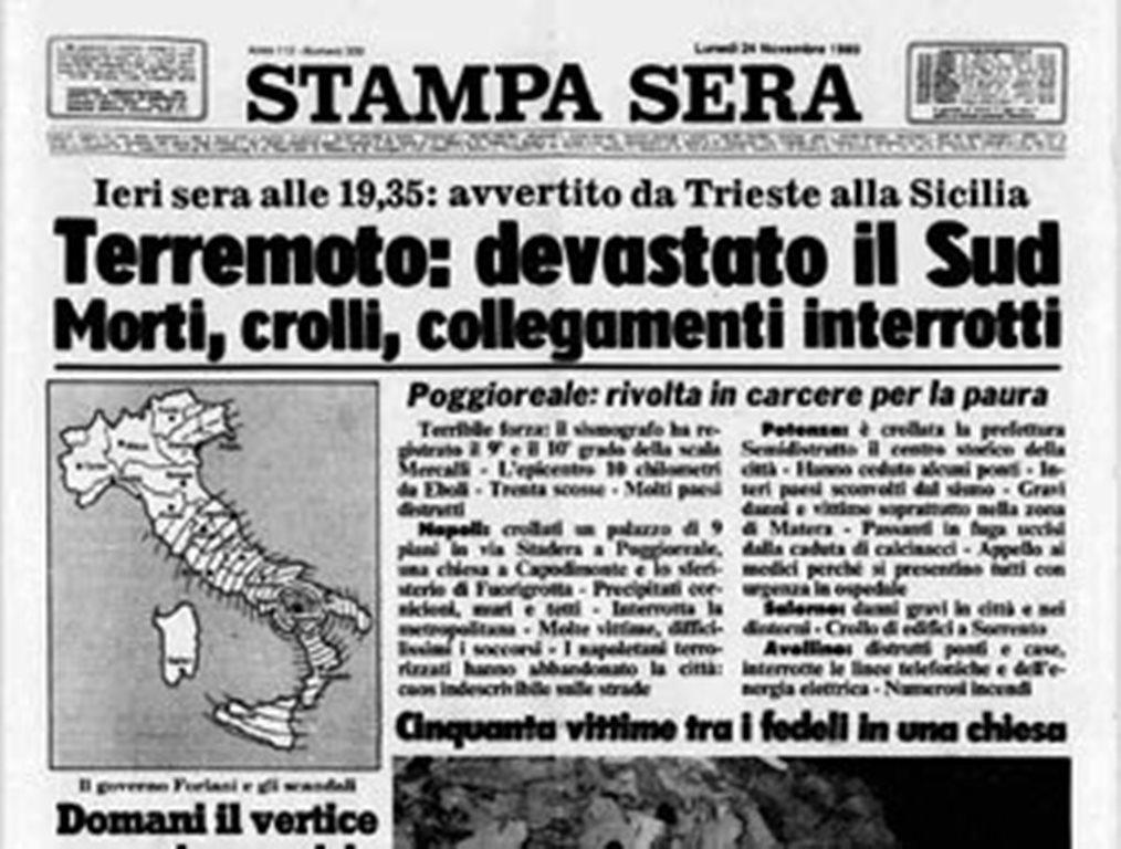 Terremoto in Irpinia, quello storico discorso di Sandro Pertini: accusa per i ritardi nei soccorsi e invito alla solidarietà [VIDEO]