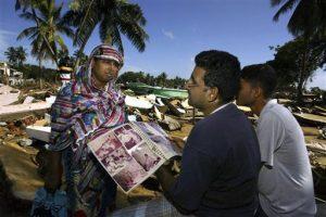 Tsunami Lasting Images Father
