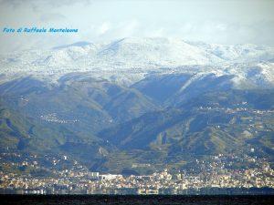 Reggio Calabria Neve Aspromonte Gambarie Fata Morgana 02