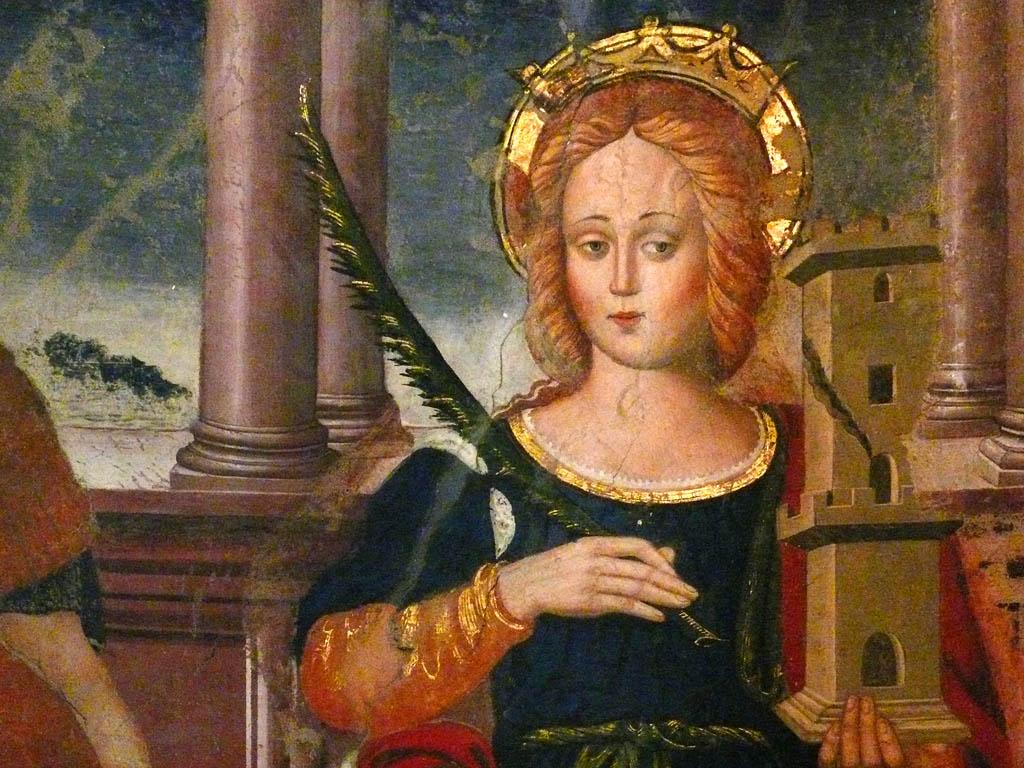 4 dicembre santa barbara storia leggende e proverbi - Storia di palma domenica ks1 ...