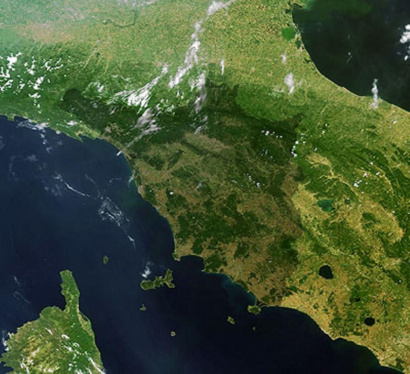 toscana mappa