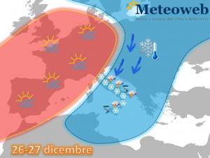 allerta meteo neve maltempo 26 27 dicembre 2014