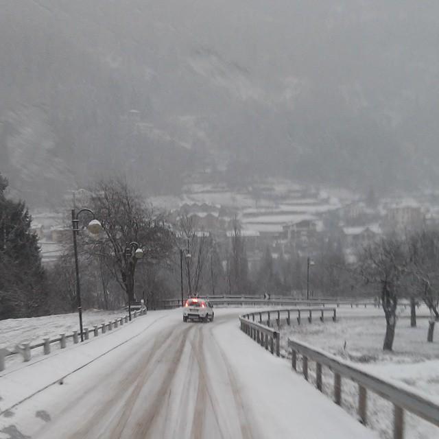 Trento,neve,enio, eccezionale