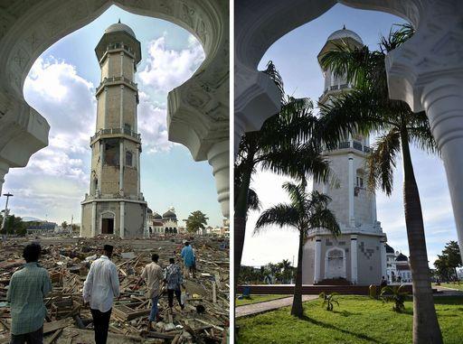 Tsunami e distruzione, 15 anni fa 250 mila morti