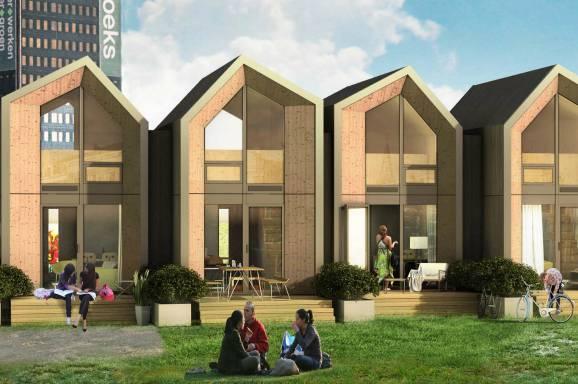 Heijmans one le abitazioni ecologiche mobili che si for Case di design del midwest