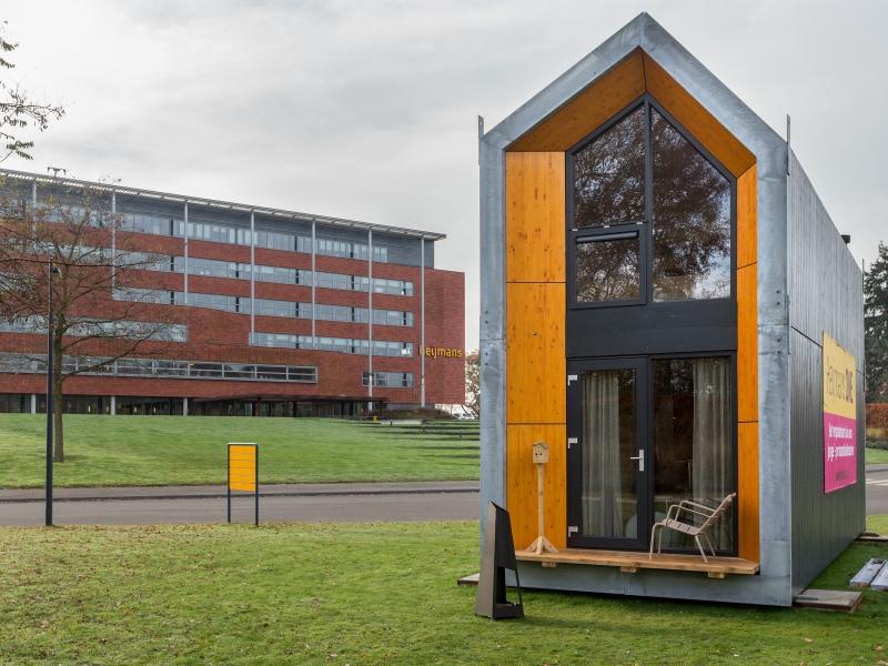 Heijmans one le abitazioni ecologiche mobili che si for Mini case prefabbricate