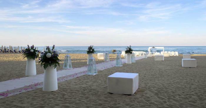 Matrimonio Spiaggia Italia : Matrimoni all aperto anche in italia la rivoluzione