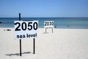 innalzamento del livello del mare
