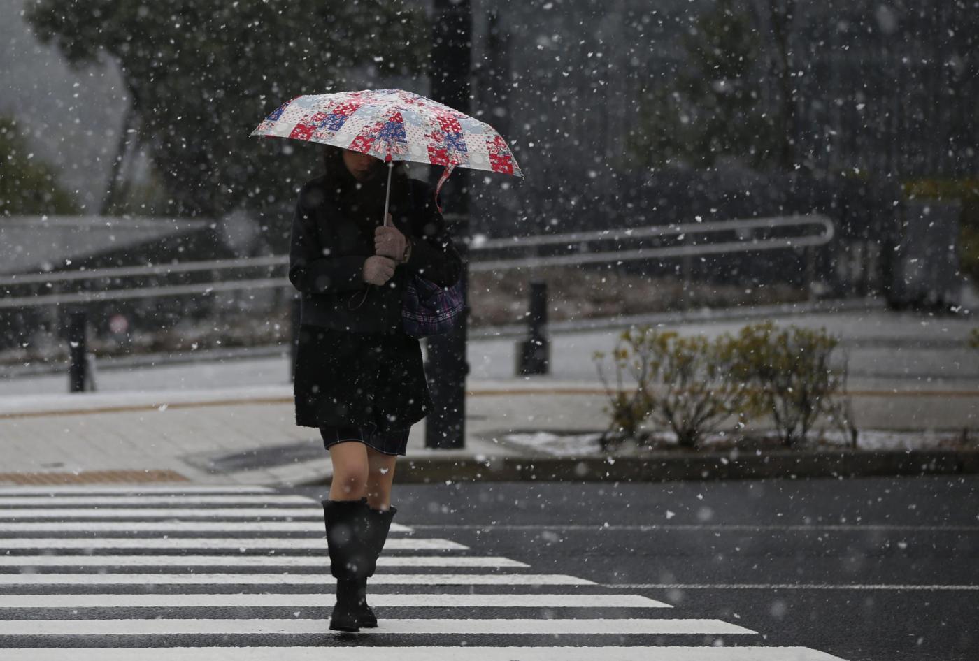 Neve Di Primavera Anche In Giappone Fiocchi Pure Su Tokyo Meteo Web