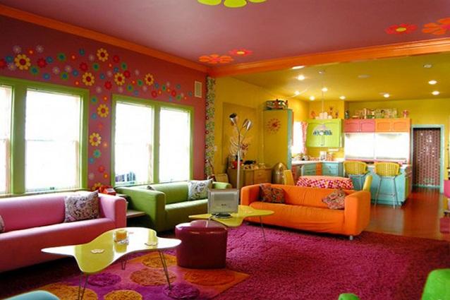 Guida ai colori che stimolano il buon umore, la cromoterapia ci ...