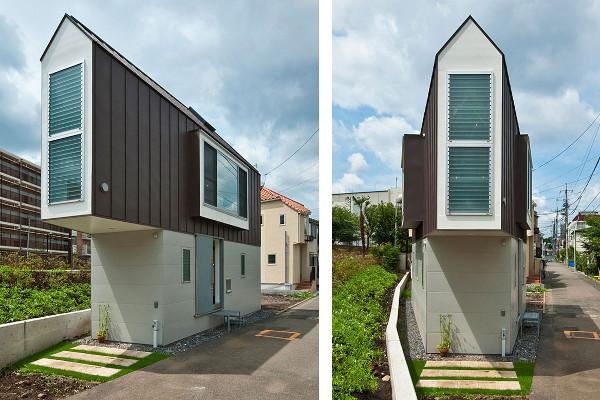 Ecco la tiny house che ottimizza gli spazi senza rinunciare al confort foto - Case giapponesi moderne ...