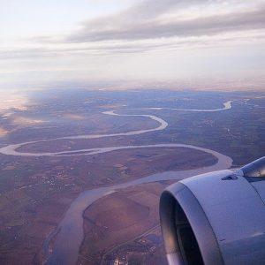 fiume po pianura padana