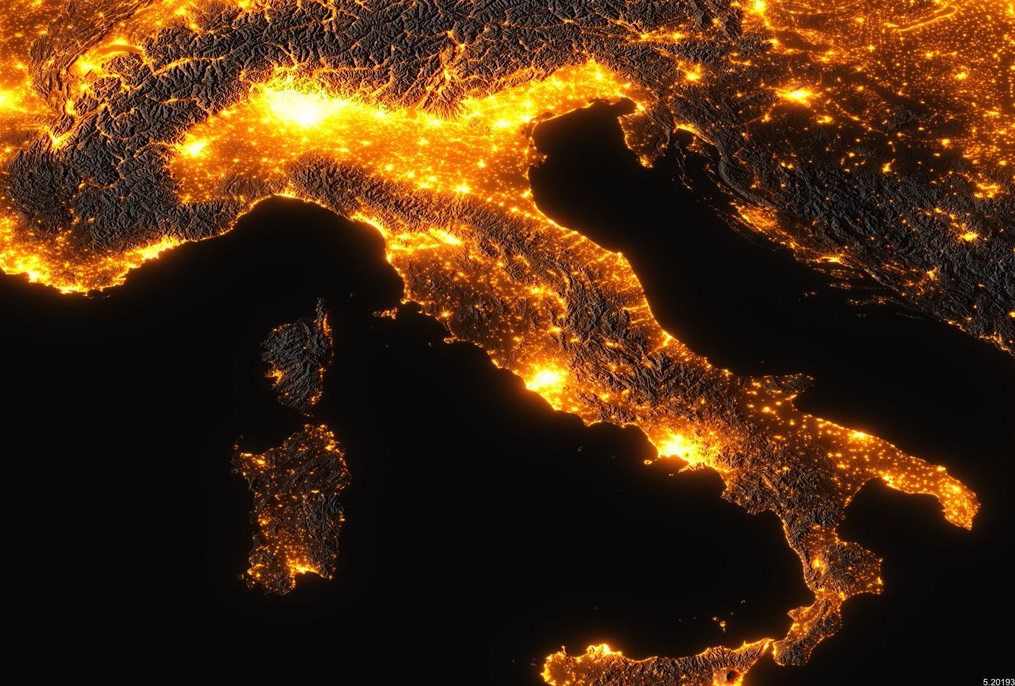 Via Lattea, in Italia sempre meno visibile. Ecco perchè