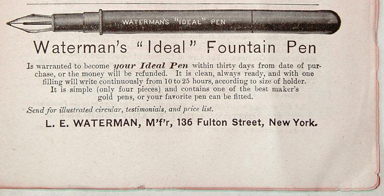 penna stilografica Waterman