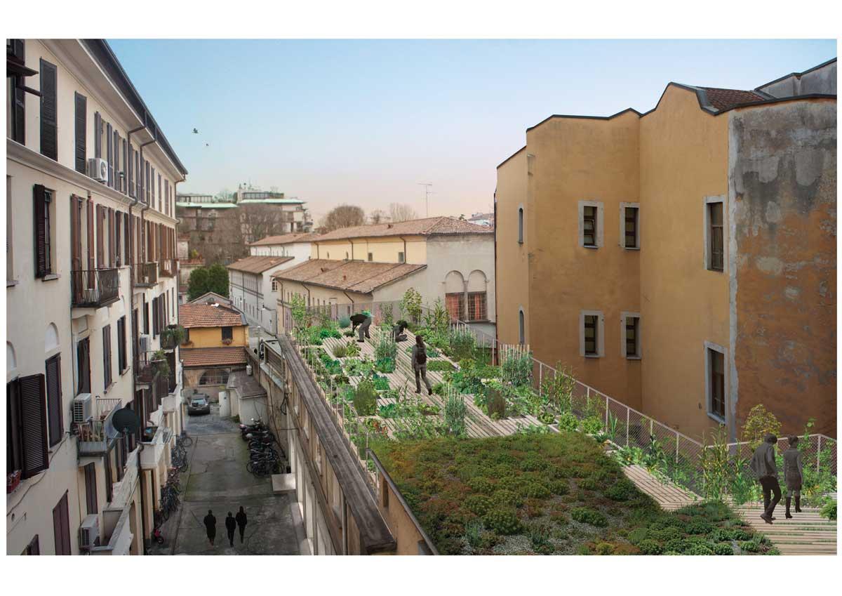 Fuorisalone 2015 l 39 orto fra i cortili di piuarch for Fuorisalone milano