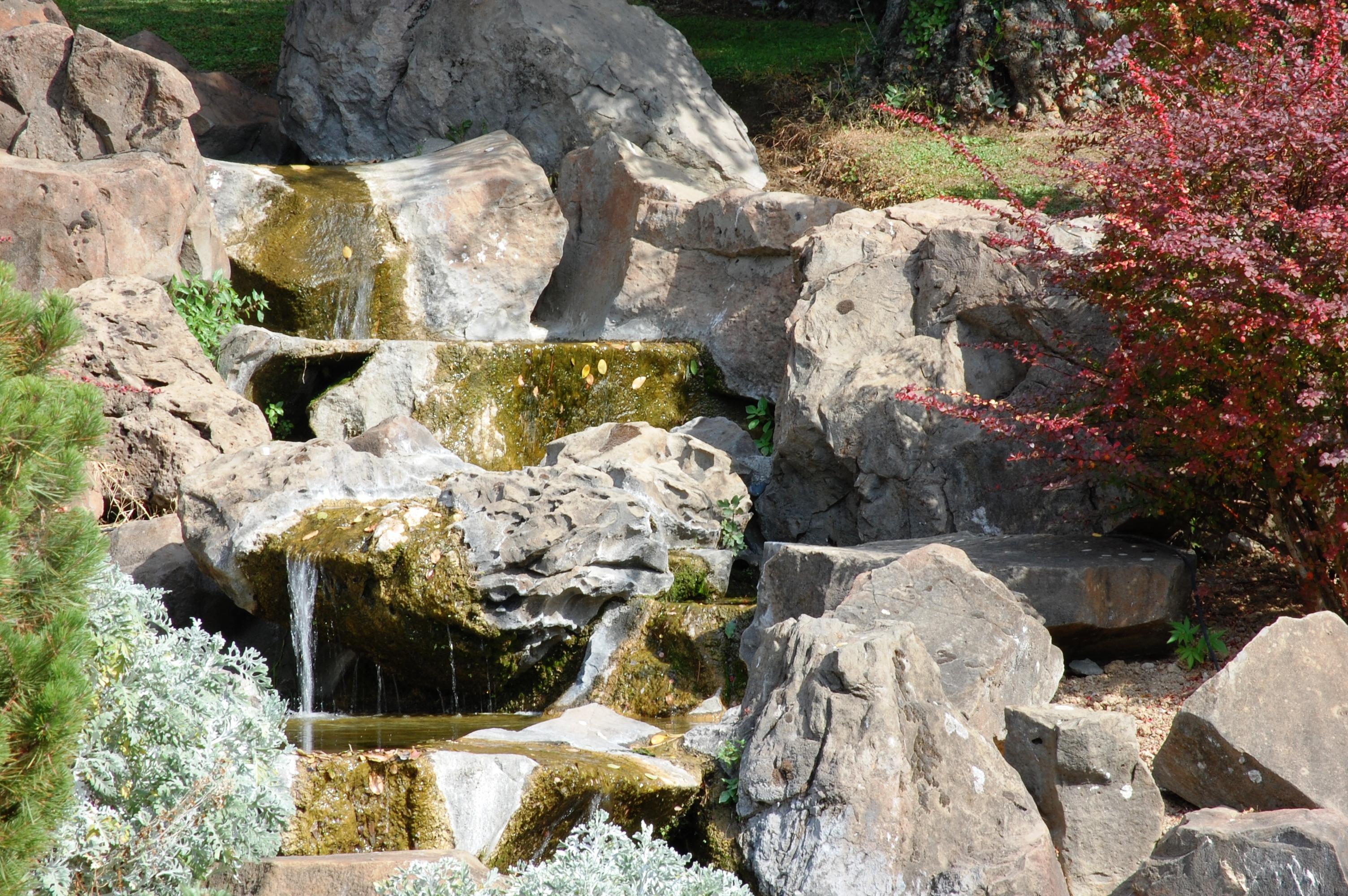 Doccia a scomparsa - Foto giardino zen ...
