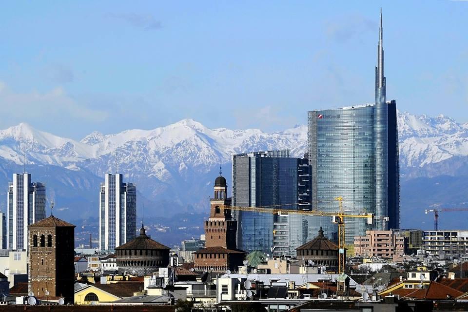 Milano segna 13 c anticipo di primavera al nord for I nuovi grattacieli di milano