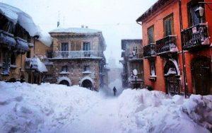 La storica nevicata del 5 marzo 2015 a Pescocostanzo