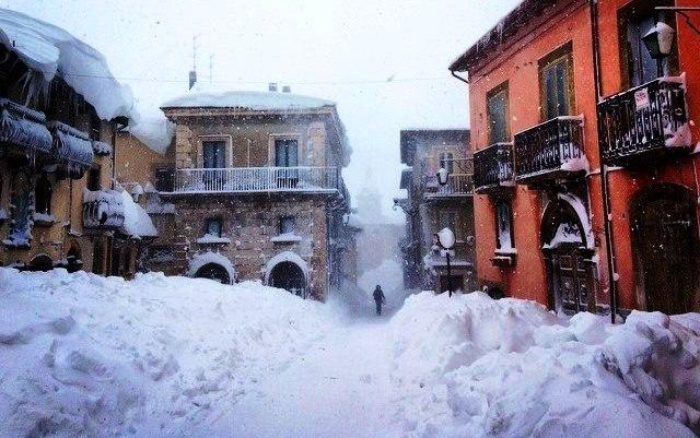 Pescocostanzo: ecco uno dei borghi più belli (e nevosi) d'Italia [GALLERY]