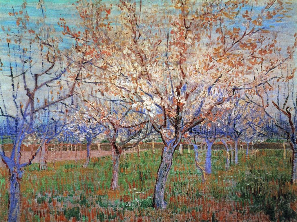 Primo giorno di primavera inizia oggi la stagione for La citta con il museo van gogh
