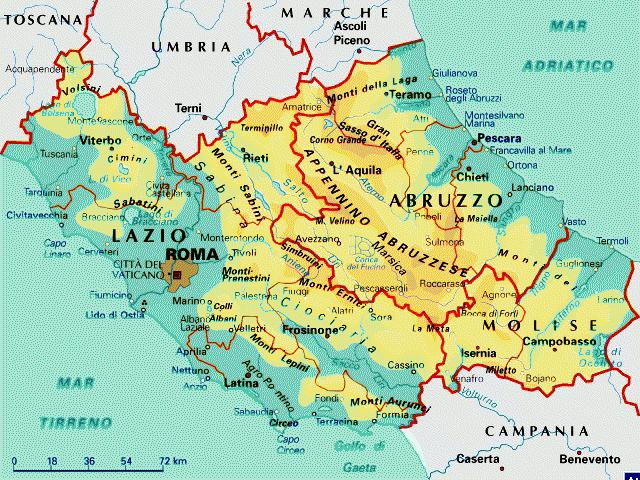 Cartina Geografica Lazio E Toscana.Allerta Meteo Arriva La Tempesta Polare Ecco Dove Cadra La Neve Tutti I Dettagli Citta Per Citta Mappe