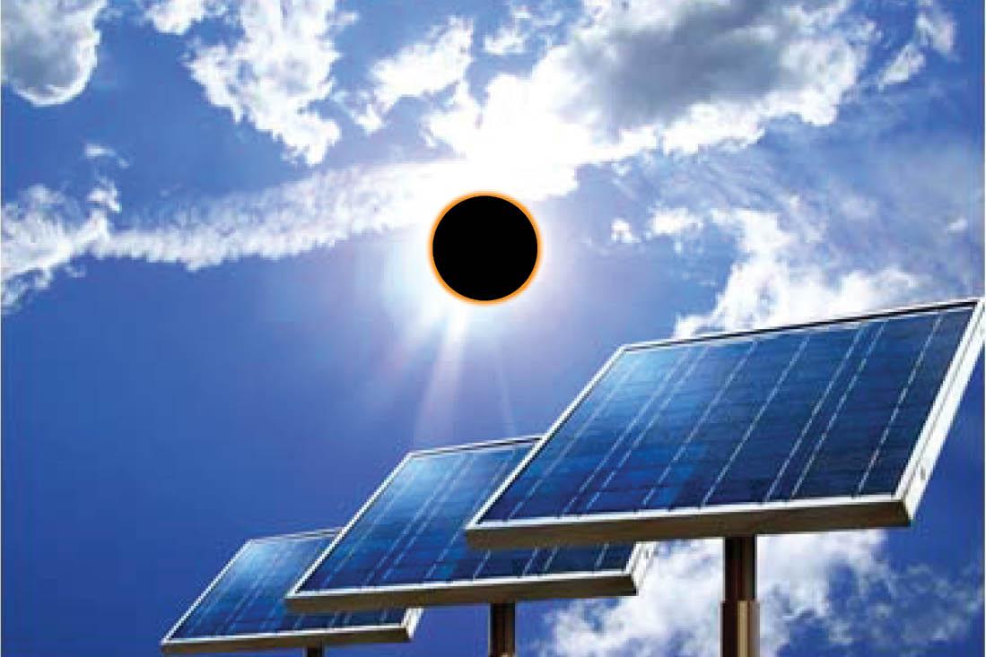 Eclissi solare nel primo giorno di primavera 10 cose che for Pannelli solari solar