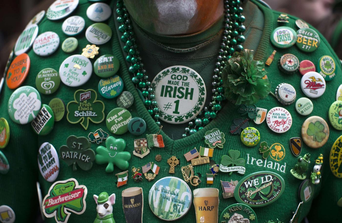 Oggi san patrizio patrono dell irlanda birra a volont - Immagini st patrick a colori ...