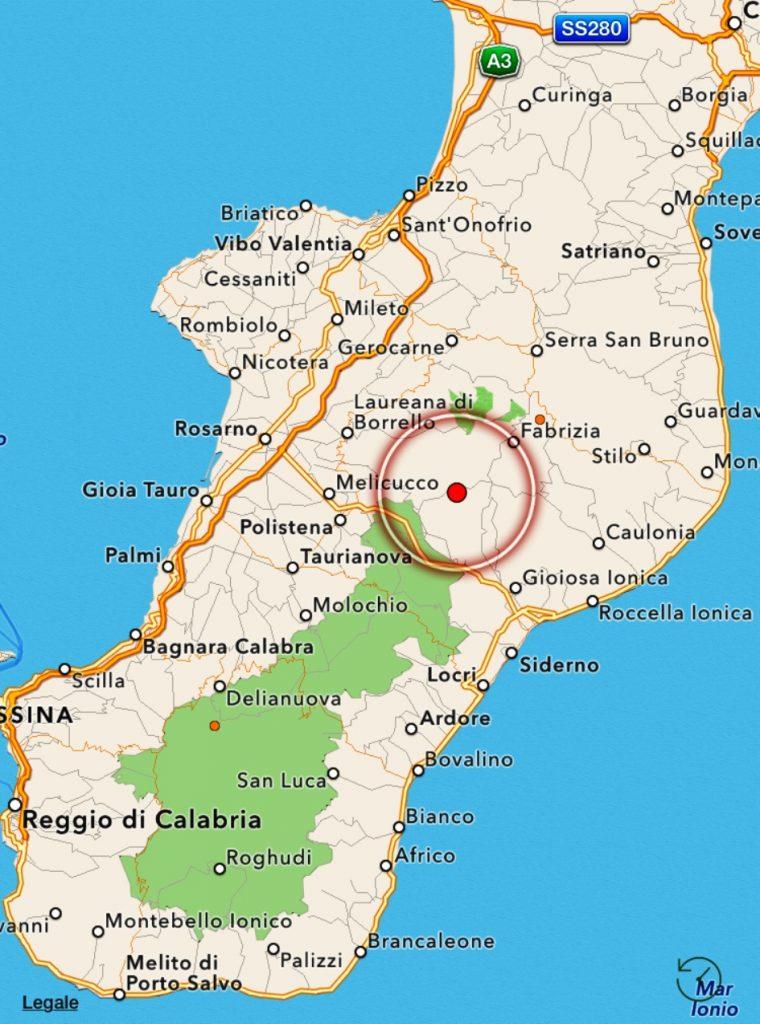 terremoto calabria oggi