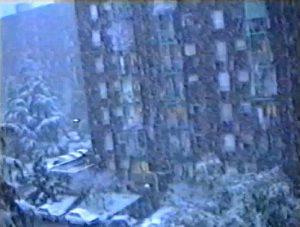 La forte nevicata che interessò Milano il 17 Aprile 1991