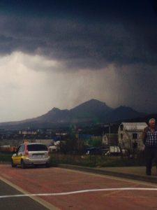"""La """"supercella temporalesca"""" di ieri nel sud della Russia"""