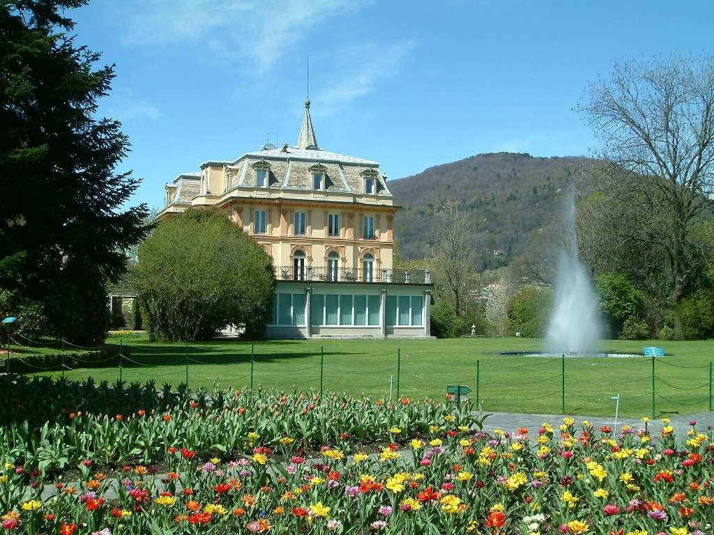 I giardini di villa taranto uno dei giardini botanici pi belli al mondo foto - Immagini di giardini fioriti ...
