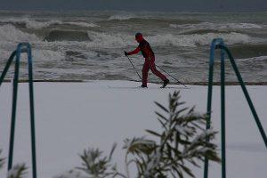 allerta meteo neve spiaggia 01