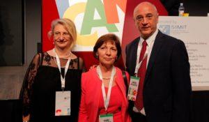 Da sx Cristina Mussini, Laura Sighinolfi e Andrea Cossarizza