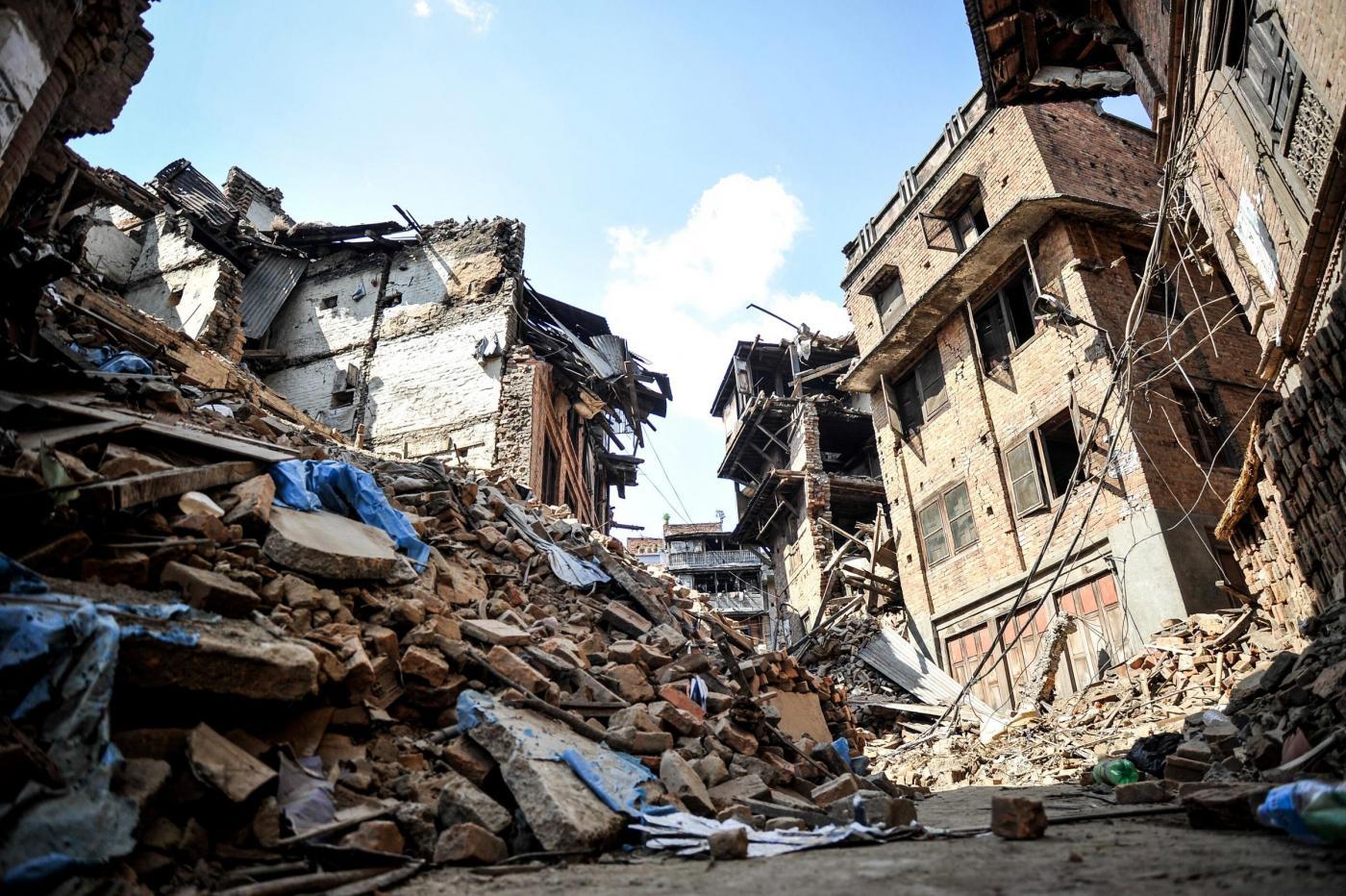 Terremoto nepal il 90 degli abitanti rimasto senza casa e adesso il futuro fa paura meteo web - Casa senza fondamenta terremoto ...