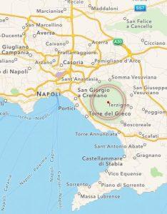 terremoto vesuvio