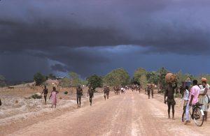 """Le piogge portate dall'umido flusso del """"Monsone di Guinea"""" raggiungono il Burkina Faso"""