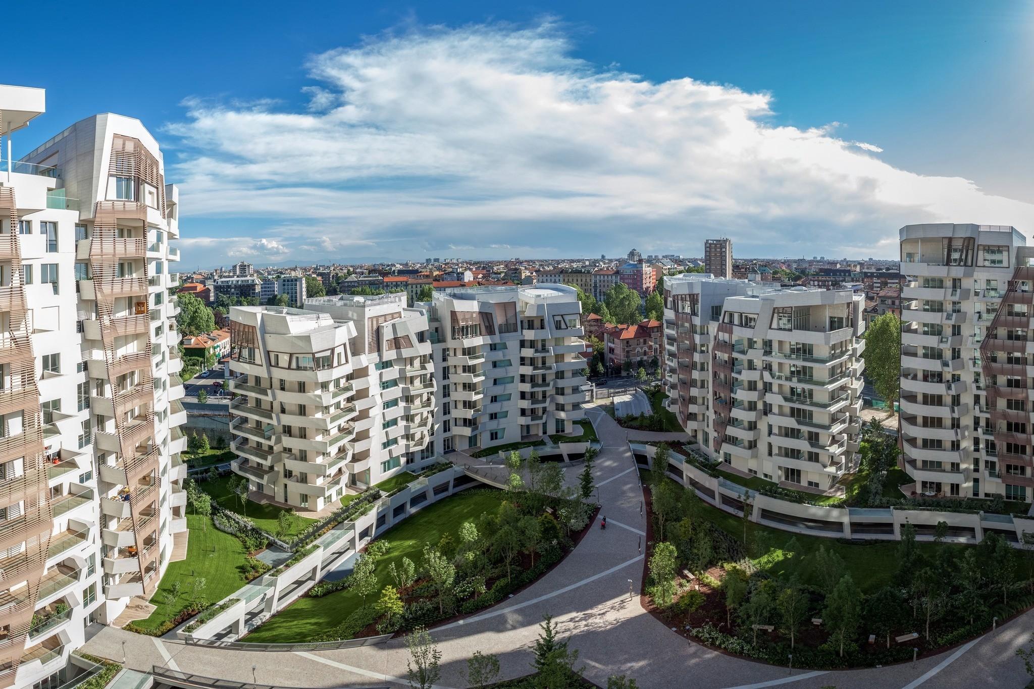 Citylife nuova vita allo storico polo urbano della fiera for Milano fiera
